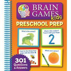 HACHETTE BOOK GROUP BRAIN GAMES PRESCHOOL PREP