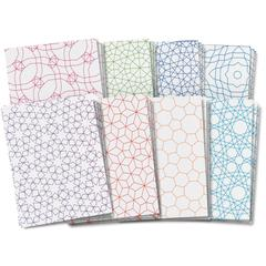 ROYLCO ROYLCO DESIGN CRAFT PAPER TESSELLATIONS DESIGNS 8.5X11 24SHT