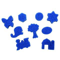 SUPER VALUE CLASSPACK DIP AND PRINT PAINTING SPONGES
