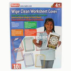 ROYLCO WIPE CLEAN WORKSHEET COVERS