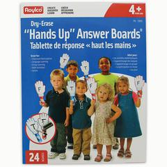 ROYLCO HANDS UP DRY ERASE ANSWER BOARDS