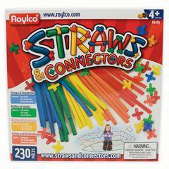 ROYLCO STRAWS & CONNECTORS 230 PIECES