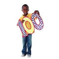 ROYLCO 100 DAYS OF SCHOOL FINGER PAINT PAPER