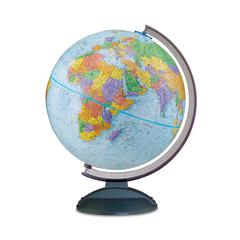 REPLOGLE GLOBES THE TRAVELER GLOBE BLUE FINISH