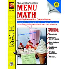 MENU MATH ICE CREAM PARLOR BOOK-2 MULTI
