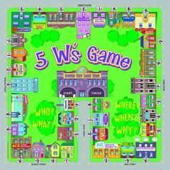 REMEDIA PUBLICATIONS 5 W S GAME LEVEL A RL 1-2