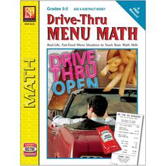 DRIVE THRU MENU MATH ADD & SUBTRACT MONEY