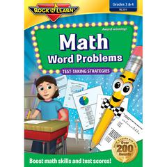 ROCK N LEARN MATH WORD PROBLEMS TEST TAKING STRATEGIES DVD