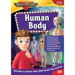 ROCK N LEARN HUMAN BODY TEST TAKING STRATEGIES DVD