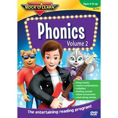 ROCK N LEARN PHONICS VOLUME II DVD