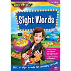 ROCK N LEARN SIGHT WORDS VOL 1 DVD