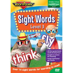 ROCK N LEARN SIGHT WORDS LEVEL 3 DVD