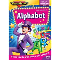 ROCK N LEARN ALPHABET DVD