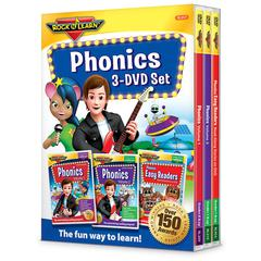 PHONICS 3 DVD SET