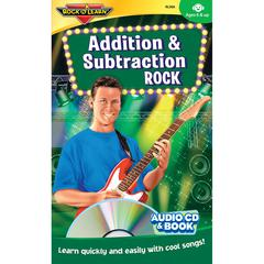 ROCK N LEARN ADDITION & SUBTRACTION ROCK CD & BOOK