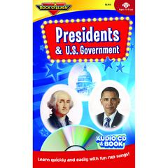 ROCK N LEARN PRESIDENTS & US GOVERNMENT CD & BOOK