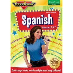 ROCK N LEARN SPANISH VOLUME 1 & 2 DVD