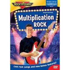 ROCK N LEARN MULTIPLICATION ROCK DVD