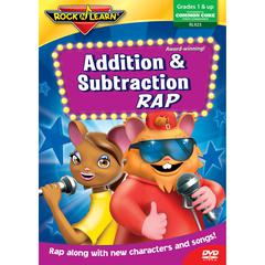 ROCK N LEARN ADDITION & SUBTRACTION RAP DVD