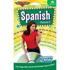 SPANISH VOLUME II CD & BOOK