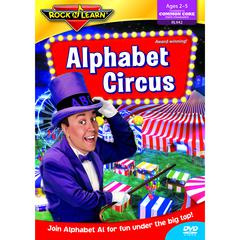 ROCK N LEARN ALPHABET CIRCUS DVD