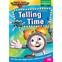 ROCK N LEARN TELLING TIME DVD