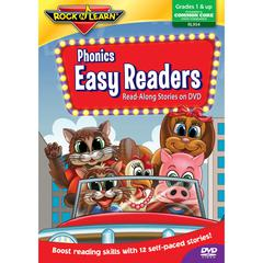 ROCK N LEARN PHONICS EASY READERS ON DVD