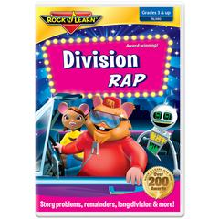 ROCK N LEARN DIVISION RAP DVD