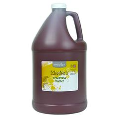 LITTLE MASTERS BROWN 128OZ TEMPERA PAINT