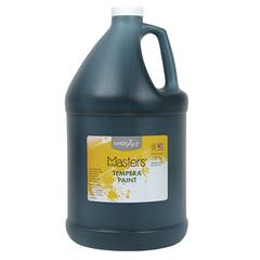 LITTLE MASTERS BLACK 128OZ TEMPERA PAINT
