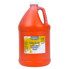 LITTLE MASTERS ORANGE 128OZ WASHABLE PAINT
