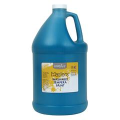 LITTLE MASTERS TURQUOISE 128OZ WASHABLE PAINT