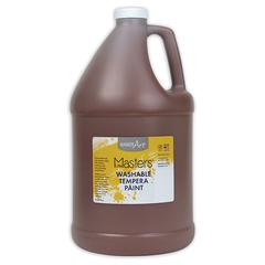 LITTLE MASTERS BROWN 128OZ WASHABLE PAINT