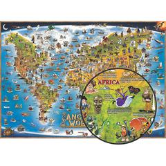 ROUND WORLD PRODUCTS CHILDRENS MAP OF THE ANCIENT WORLD