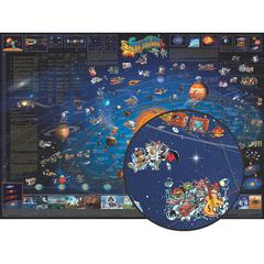 ROUND WORLD PRODUCTS CHILDRENS MAP OF THE SOLAR SYSTEM