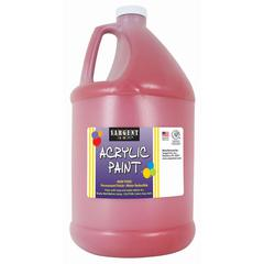 SARGENT ART 64OZ ACRYLIC - RED