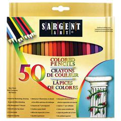 SARGENT ART COLORED PENCILS 50 COLOR SET