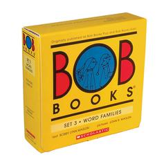 BOB BOOKS WORD FAMILY SET 3