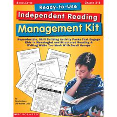 SCHOLASTIC TEACHING RESOURCES READY-TO-USE INDEPENDENT READING MANAGEMENT KIT GR 2-3