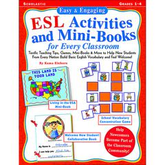 EASY & ENGAGING ESL ACTIVITIES & MINI BOOKS FOR EVERY CLASSROOM