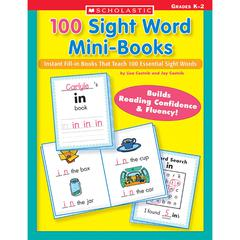 SCHOLASTIC TEACHING RESOURCES 100 SIGHT WORD MINI-BOOKS