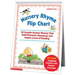 SCHOLASTIC TEACHING RESOURCES NURSERY RHYME FLIP CHART