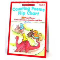 SCHOLASTIC TEACHING RESOURCES COUNTING POEMS FLIP CHART