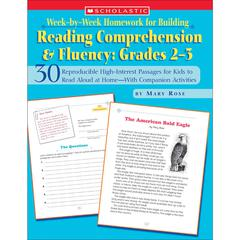 SCHOLASTIC TEACHING RESOURCES WEEK-BY-WEEK HOMEWORK READING COMPREHENSION & FLUENCY GR 2-3