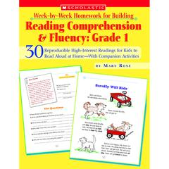 READING COMP & FLUENCY GR 1 WEEK BY