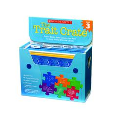 SCHOLASTIC TEACHING RESOURCES THE TRAIT CRATE GR 3