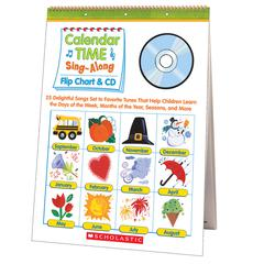 CALENDAR TIME SING ALONG FLIP CHART AND CD