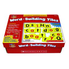 SCHOLASTIC TEACHING RESOURCES LETTLE RED TOOL BOX WORD BUILDING TILES