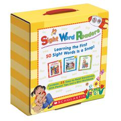 SCHOLASTIC TEACHING RESOURCES SIGHT WORD READER LIBRARY