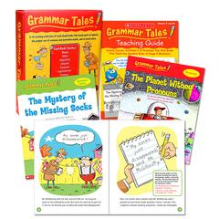 SCHOLASTIC TEACHING RESOURCES GRAMMAR TALES BXS